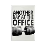 Another day at the office Rectangle Magnet