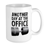 Another day at the office Large Mug