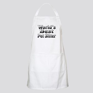 WORLDS BEST Pet Sitter Apron