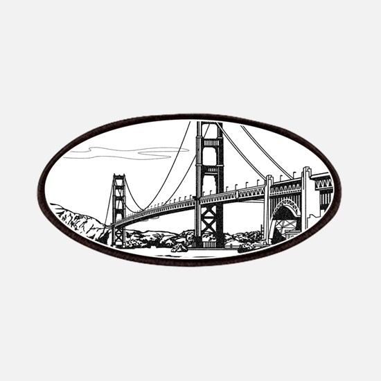 Golden Gate Bridge Patches
