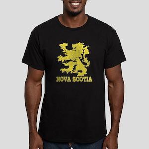Nova Scotia Men's Fitted T-Shirt (dark)