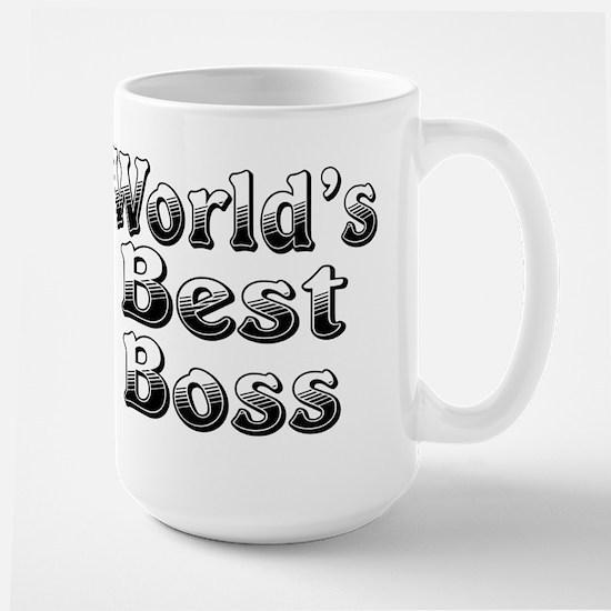 WORLDS BEST Boss Large Mug