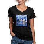 The Arrival Women's V-Neck Dark T-Shirt