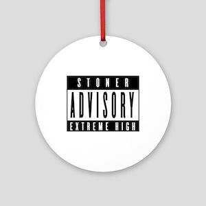 Stoner Advisory Ornament (Round)