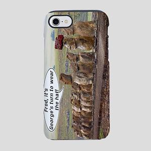 EasterIslandFredMeme BT iPhone 7 Tough Case