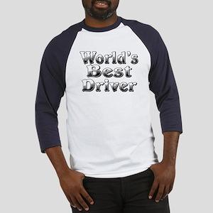 WORLDS BEST Driver Baseball Jersey