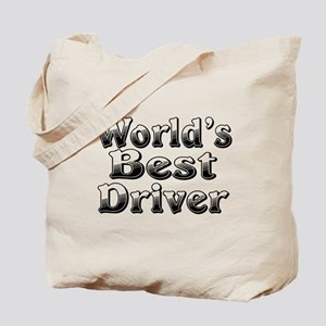 WORLDS BEST Driver Tote Bag