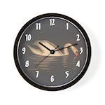 Night Visitor Wall Clock