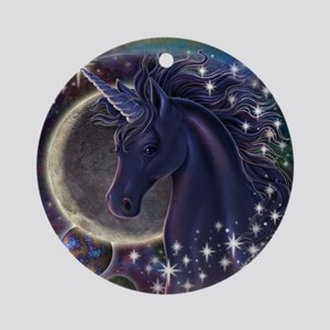 Stellar Unicorn Ornament (Round)
