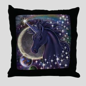Stellar Unicorn Throw Pillow