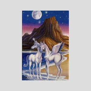Moonlight Magic Rectangle Magnet