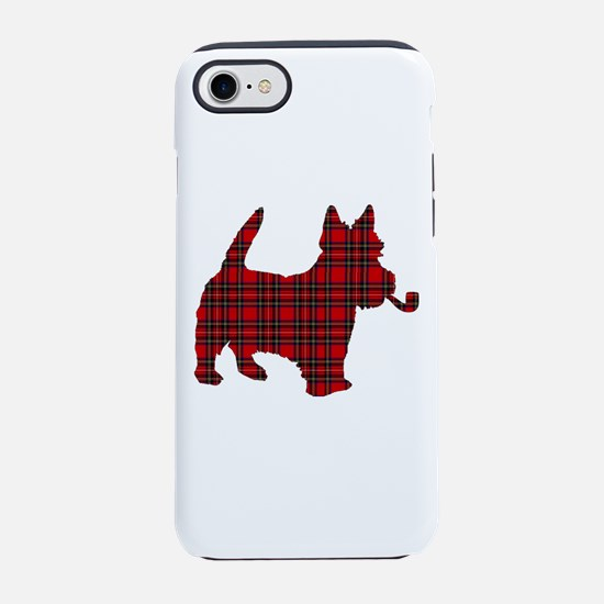 Scottish Terrier Tartan iPhone 7 Tough Case