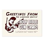 Gun Camp Greeting Cards