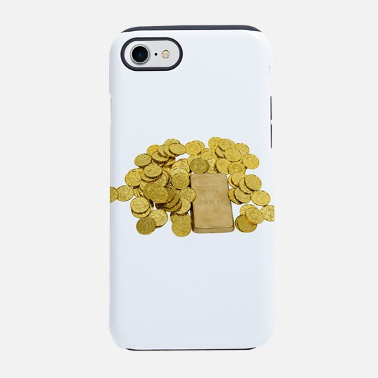 GoldCoinsBar093009.png iPhone 7 Tough Case