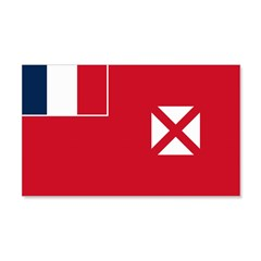 Wallis and Futuna Flag 22x14 Wall Peel