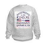 USA / Russian Parts Kids Sweatshirt