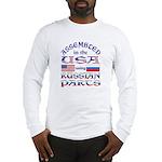 USA / Russian Parts Long Sleeve T-Shirt