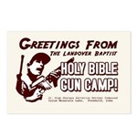 Bible Gun Camp Postcards (Package of 8)