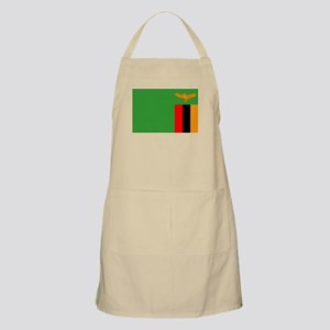 Zambia Flag Apron