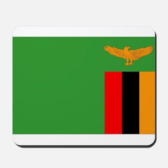 Zambia Flag Mousepad
