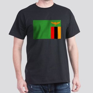 Zambia Flag Dark T-Shirt