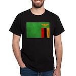 Zambia Flag Dark T-Shirt