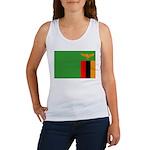 Zambia Flag Women's Tank Top