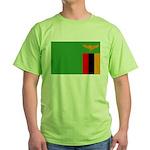 Zambia Flag Green T-Shirt