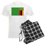 Zambia Flag Men's Light Pajamas