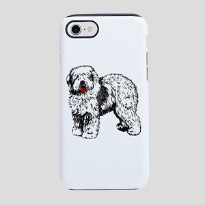 Old English Sheepdog iPhone 7 Tough Case