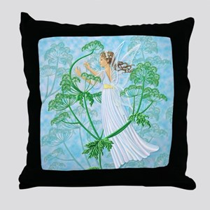 Fairy Music Throw Pillow