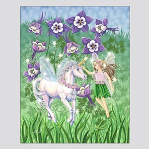 Fairy Unicorn Small Poster