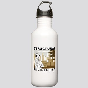 Structural Engineering Stainless Water Bottle 1.0L