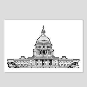 U.S.Capitol Building Postcards (Package of 8)