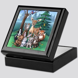 Forest Family Keepsake Box