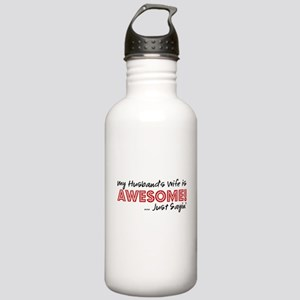 Husbands Wife Awesome Stainless Water Bottle 1.0L