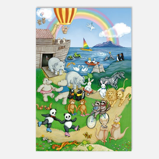 Ark Animals Postcards (Package of 8)