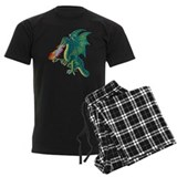 Dragon Men's Dark Pajamas