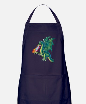 Cute Dragon Apron (dark)