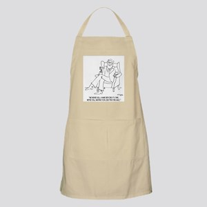 Never Sell Wine Before Its Time Apron