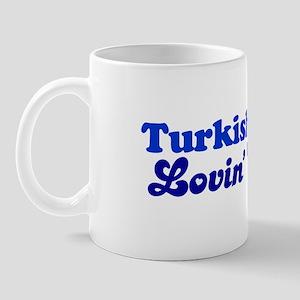 Turkish Van Cat Loving Girl Mug