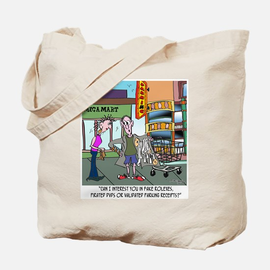 Interested In Parking Receipts? Tote Bag