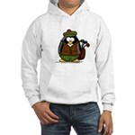 Golf Penguin Hooded Sweatshirt