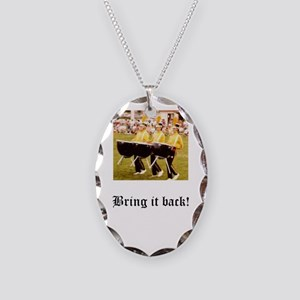 Bring it Back! 1 Necklace Oval Charm