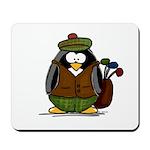Golf Penguin Mousepad