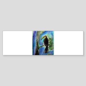 Toucan, fun, bird art! Sticker (Bumper)