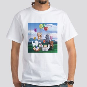 Kitten Caboodle White T-Shirt