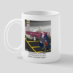 Parking Even in Death Mug