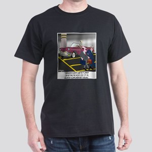 Parking Even in Death Dark T-Shirt