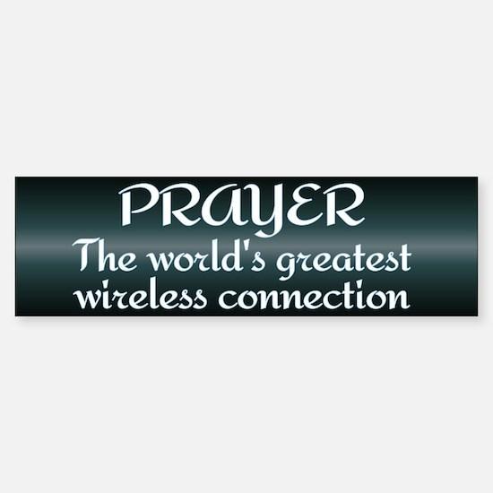 Prayer - World's Greatest Wir Sticker (Bumper)